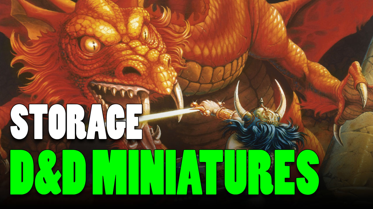 D&D Miniature Storage Solutions to Protect the Party