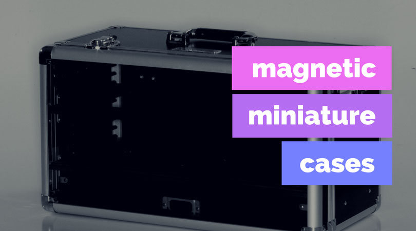 Magnetic Miniature Cases