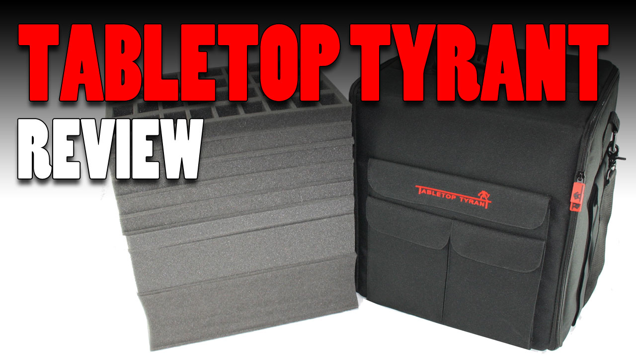 Tabletop Tyrant Miniature Cases