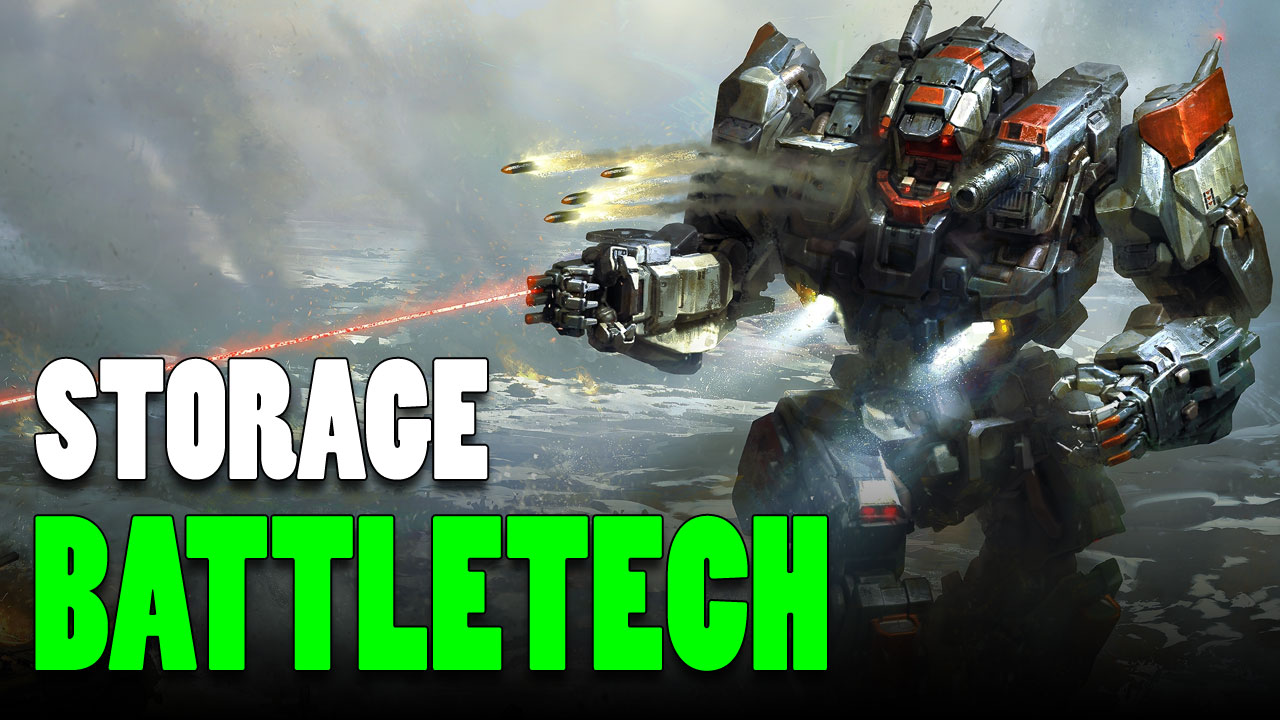 Play Battletech? Need a Case? Cheap & Easy Solutions!