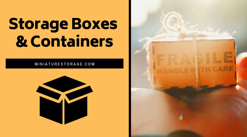 Miniature Storage Boxes & Containers