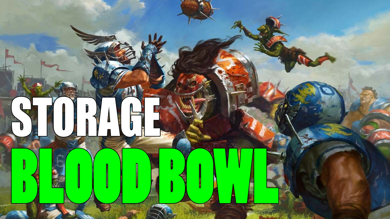 Blood Bowl Storage to Safely Transport Your Miniatures