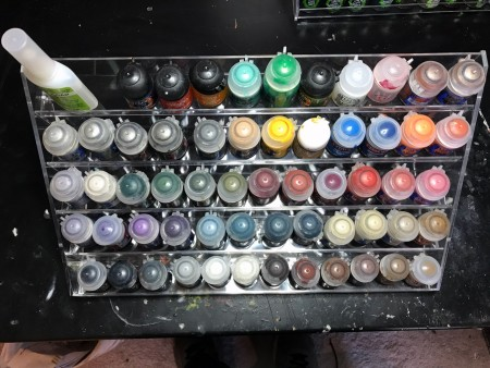Home-it Paint Rack
