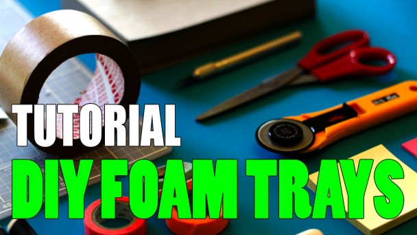 Miniature Foam Trays Tutorial