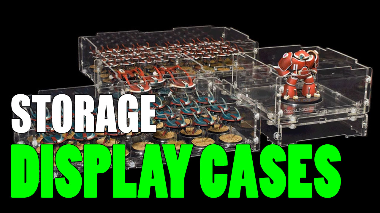 Complete Miniatures Display Cabinet List (Cheap to Beautiful)