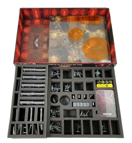 Battle Foam box storage for Necromunda