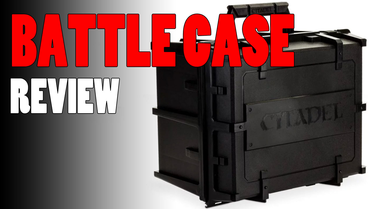 Citadel Battle Figure Case