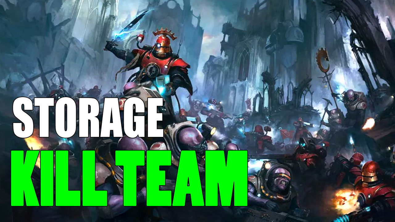 The Best Kill Team Cases & Storage Ideas You'll Love
