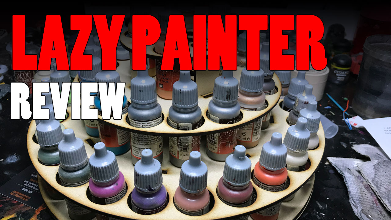 A Review of The Lazy Painter by MakerHorde for Paint Storage