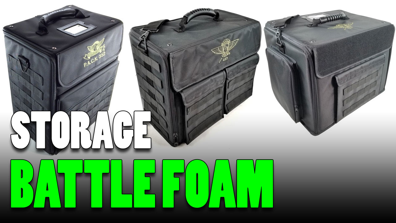 Battle Foam Case Choices