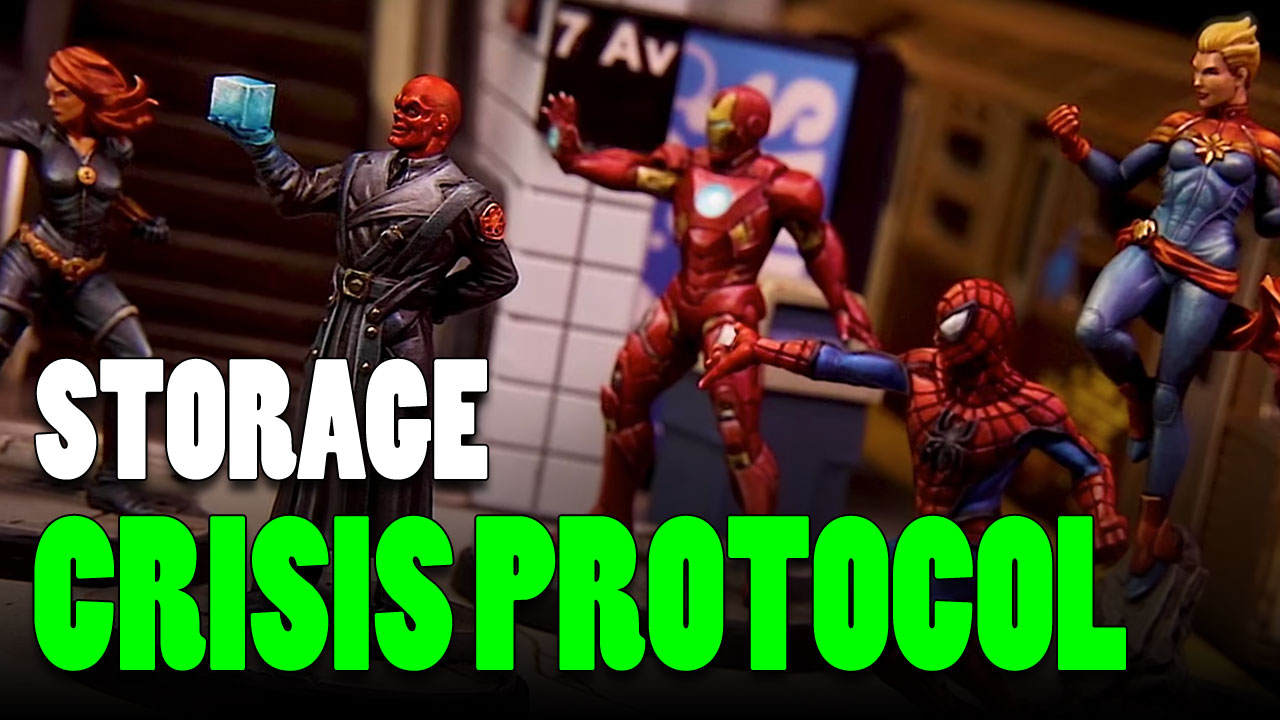 Marvel: Crisis Protocol Foam Inserts, Trays & Storage Ideas